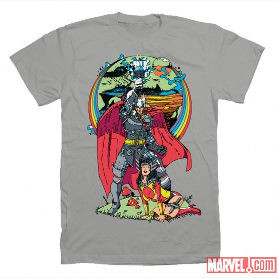 Thor Asgard t-shirt by Mighty Fine