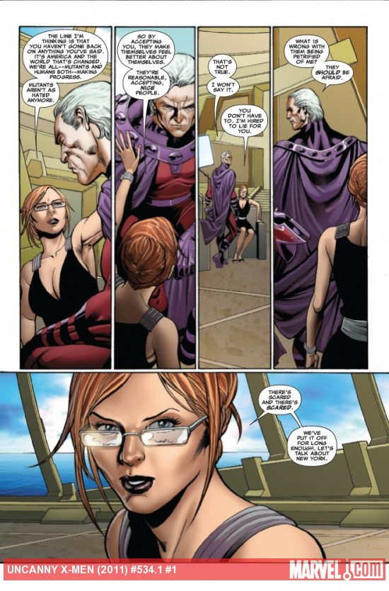 Uncanny X-Men #534.1 preview art by Carlos Pacheco