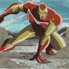 The Avengers: Earth's Mightiest Heroes! Voicing Iron Man