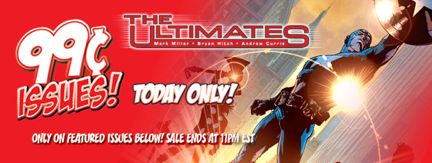 Marvel App: Get Ultimates Issues for 99 Cents