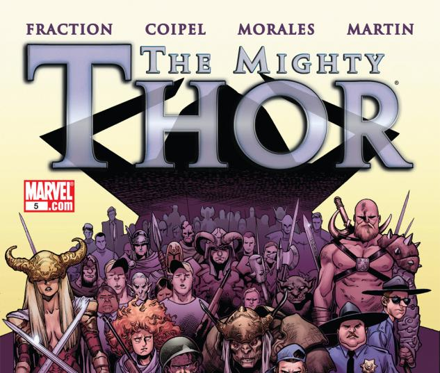 The mighty thor 2011 5 read sle the mighty thor 2011 5 published