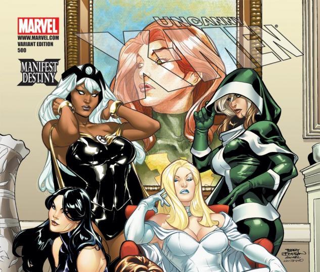Uncanny X-Men (1963) #500, DODSON VARIANT