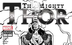 The Mighty Thor (2011) #6, Architect Sketch Variant cover