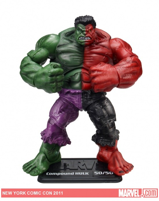 Compound Hulk Marvel Universe toy, NYCC 2011 exclusive from Hasbro