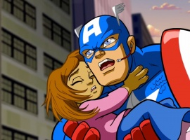 Screenshot from The Super Hero Squad Show episode 1