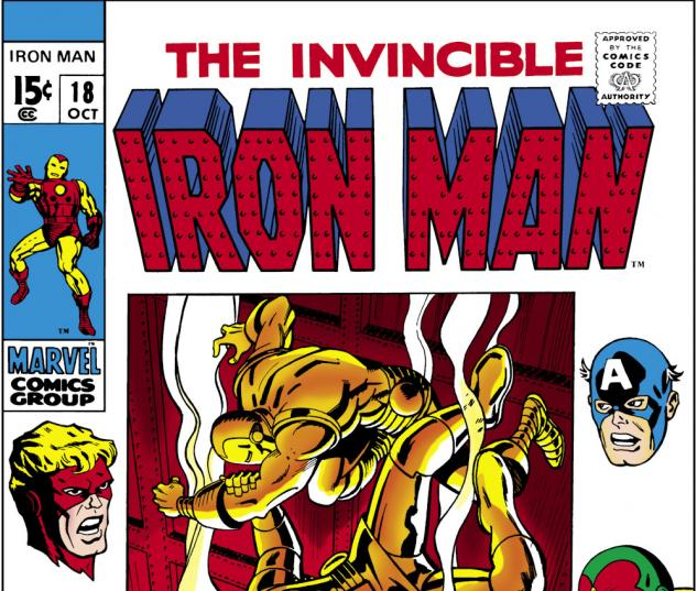 Iron Man (1986) #18