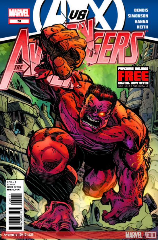 AVENGERS 28 (AVX, WITH DIGITAL CODE)