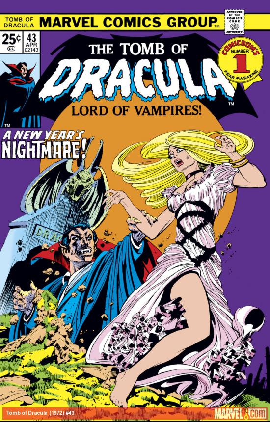 Tomb of Dracula (1972) #43 Cover