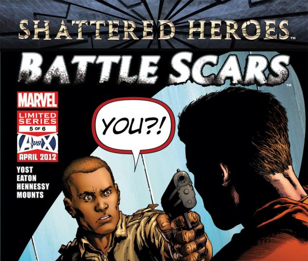 Battle Scars (2011) #5 Cover