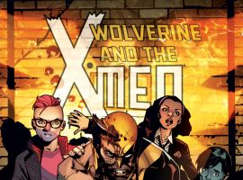 Wolverine & The X-Men (2014) #2 cover by Mahmud Asrar
