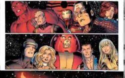 Marvel AR: AVX #4 Phoenix Art Evolution