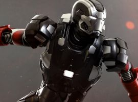 Hot Toys' Exclusive Iron Man 3 Hot Rod (Mark XXII) Collectible Figure