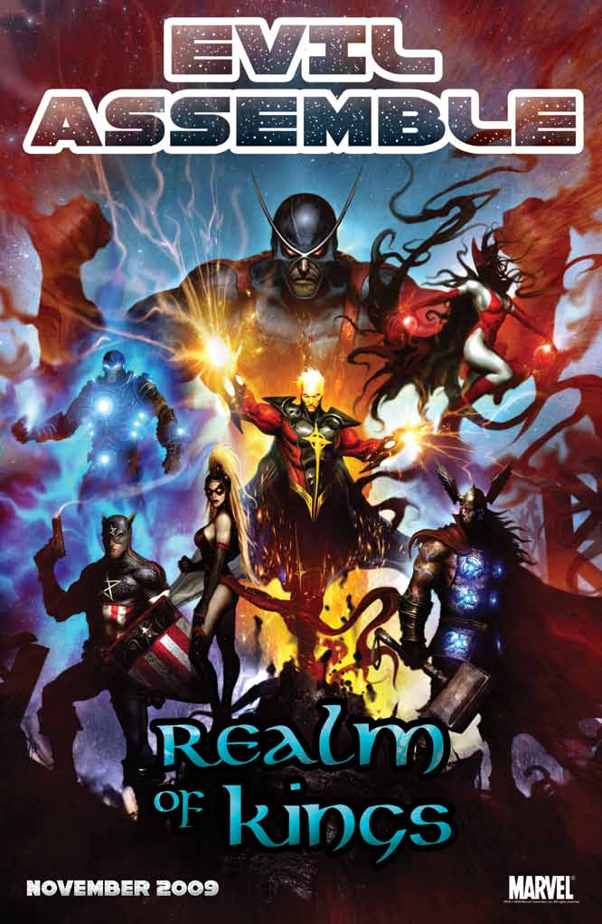 Realm of Kings (2009) #1