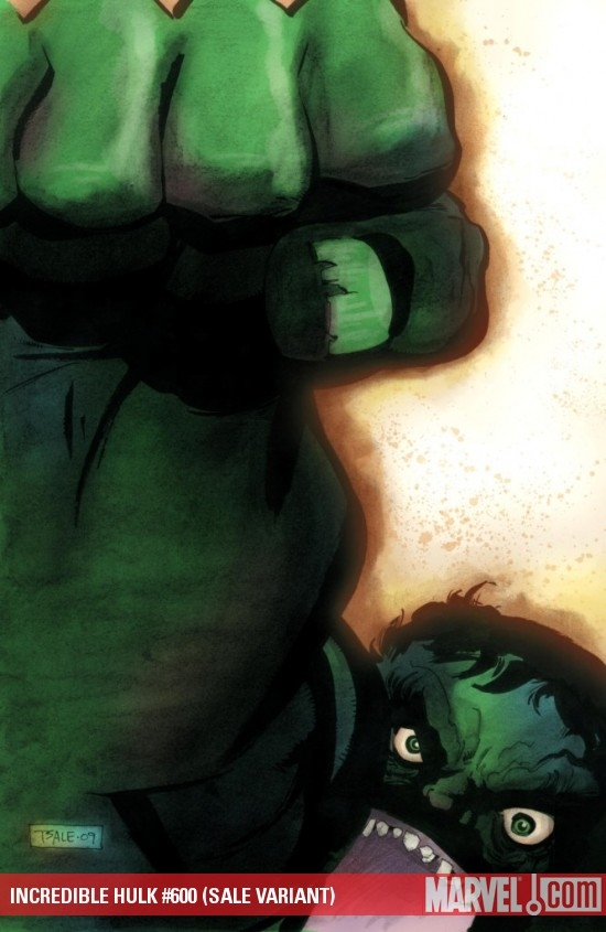 INCREDIBLE HULK #600 (SALE VARIANT)