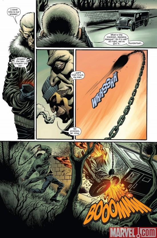 DARK REIGN: THE HOOD #1, page 5