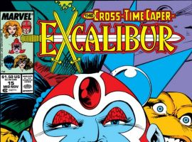 EXCALIBUR (2009) #15 COVER