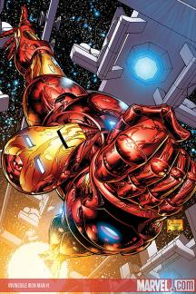 Invincible Iron Man #1  (Quesada Variant)
