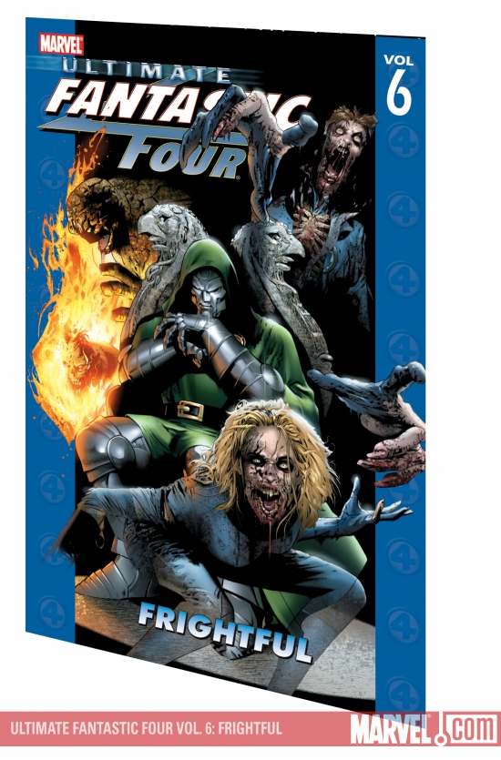 ULTIMATE FANTASTIC FOUR VOL. 6: FRIGHTFUL COVER