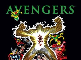 AVENGERS: THE KORVAC SAGA HARDCOVER cover by George Perez