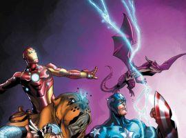 Image Featuring Avengers, Iron Man, Lockheed, Lockjaw, Thor, Winter Soldier, Pet Avengers