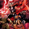 Thor and the Warriors Three by Olivier Coipel