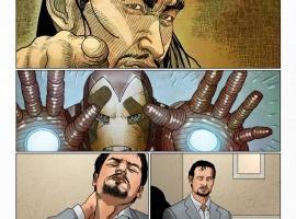 Invincible Iron Man #500.1 preview art by Salvador Larroca