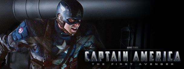 First Look: Chris Evans In Full Cap Suit