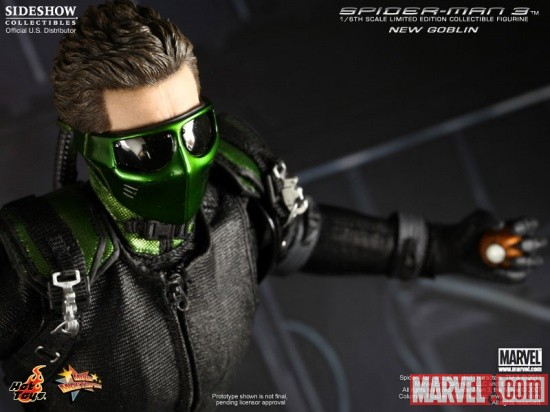 "Product Announcement Hot Toys Spider Man 3 ""Green Goblin"" Green Goblin Hot Toys"