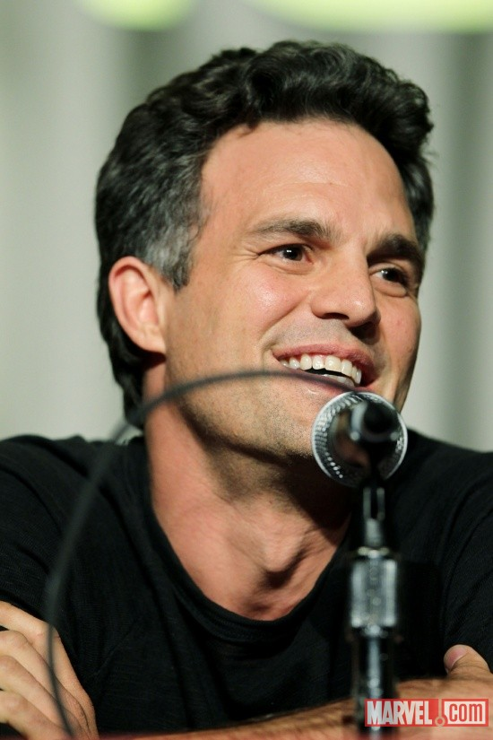 New York Comic Con 2011: Mark Ruffalo at the Marvel's The Avengers panel