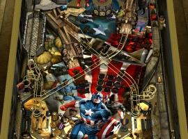 Captain America table for Zen Pinball on iPad