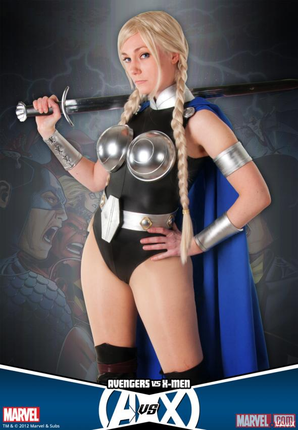 Ms_MonyPeny as Valkyrie (photo by Judy Stephens)