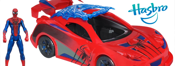 Hasbro Launching Amazing Spider-Man Toys