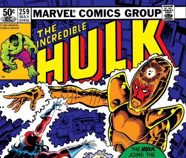 Incredible Hulk (1962) #259 Cover