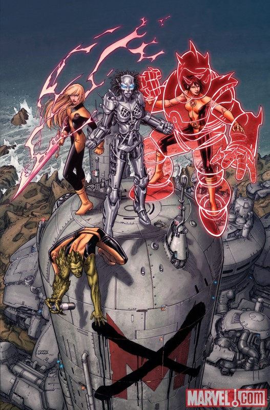 Image Featuring Magik (Illyana Rasputin), Armor (Hisako Ichiki)