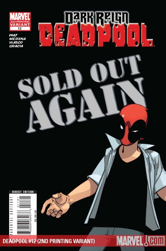 DEADPOOL #12 (2ND PRINTING VARIANT)