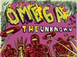 OMEGA: THE UNKNOWN #7 cover art by Gary Panter