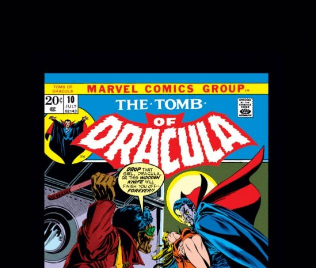 Tomb of Dracula (1972) #10
