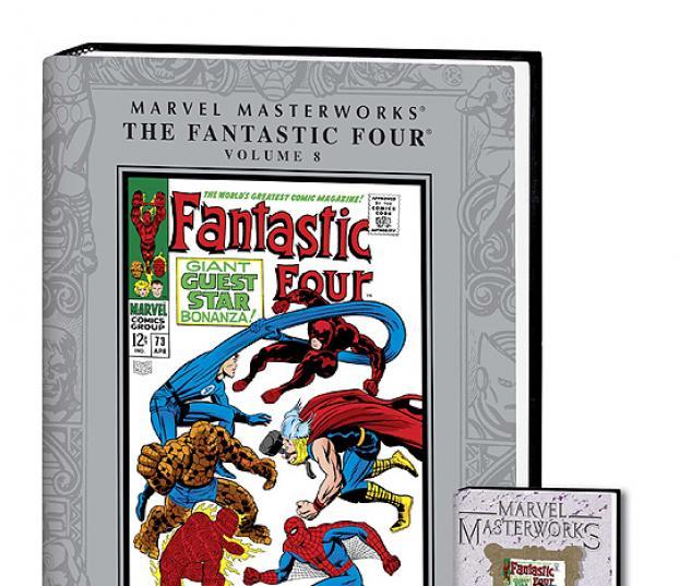 MARVEL MASTERWORKS: THE FANTASTIC FOUR VOL. 8 COVER