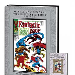 MARVEL MASTERWORKS: THE FANTASTIC FOUR VOL. 8 COVER
