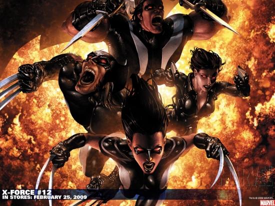 X-Force (1991) #12 Wallpaper