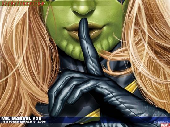 Ms. Marvel (2006) #25 Wallpaper