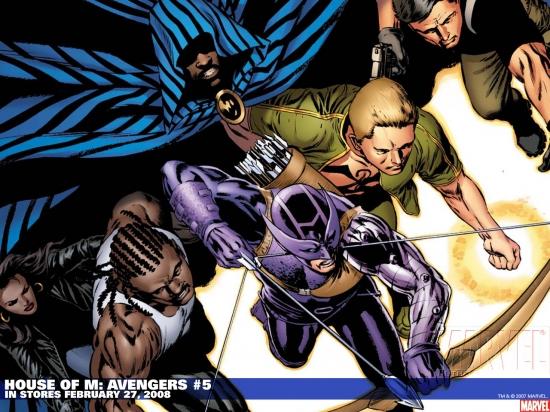 House of M: Avengers (2007) #5 Wallpaper