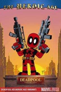 Deadpool (2008) #23 (HEROIC AGE VARIANT)