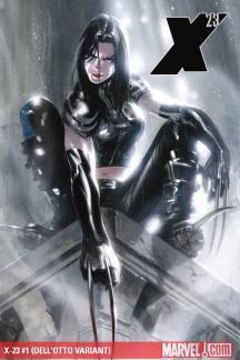 X-23 (2010) #1 (DELL'OTTO VARIANT)
