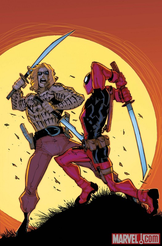 DEADPOOL TEAM-UP #891 cover by Humberto Ramos