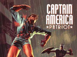 CAPTAIN AMERICA: PATRIOT #3 cover by Mitch Breitweiser