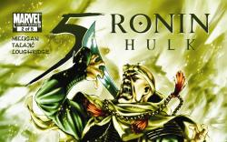 5 Ronin #2 cover by Mark Brooks