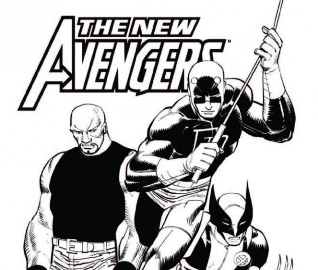 NEW AVENGERS 16 ARCHITECT SKETCH VARIANT (FI)