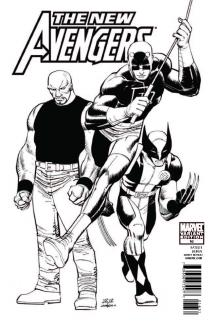 New Avengers (2010) #16 (Architect Sketch Variant)