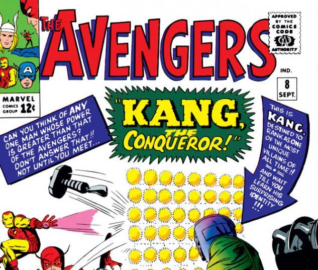 Avengers (1963) #8 cover
